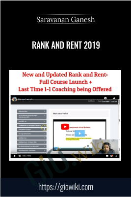 Rank And Rent 2019 – Saravanan Ganesh