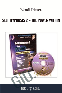 Self Hypnosis 2 – The Power Within – Wendi Friesen