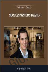 Success Systems Master – Primoz Bozic