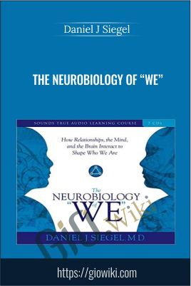 "The Neurobiology of ""We"": How Relationships, the Mind, and the Brain Interact to Shape Who We Are - Daniel J Siegel"