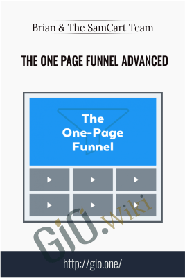 The One Page Funnel Advanced package – Brian & The SamCart Team