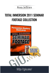 Total Immersion 2011 Seminar Footage Collection – Ross Jeffries