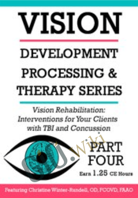 Vision Rehabilitation: Interventions for Your Clients with TBI and Concussion - Christine Winter-Rundell