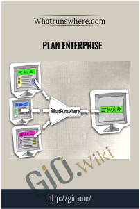 Whatrunswhere.com – Plan ENTERPRISE