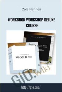Workbook Workshop Deluxe Course – Cole Hennen