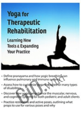 Yoga for Therapeutic Rehabilitation: Learning New Tools & Expanding Your Practice - Betsy Shandalov
