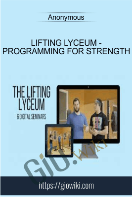 Lifting Lyceum - Programming for Strength