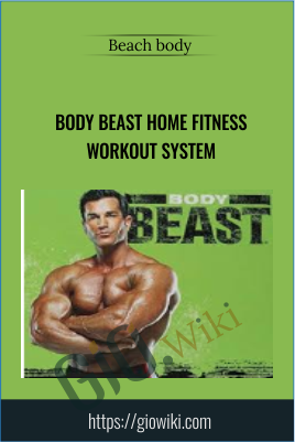 Body Beast Home Fitness Workout System - Beach body