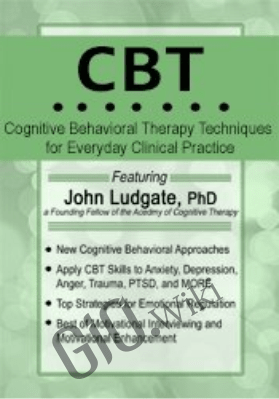 CBT: Cognitive Behavioral Therapy Techniques for Everyday Clinical Practice - John Ludgate
