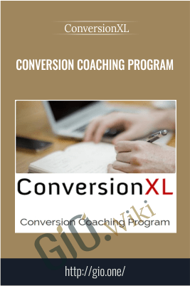 Conversion Coaching Program - ConversionXL - Peep Laja