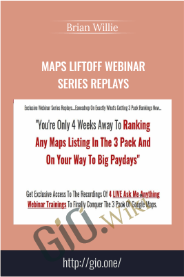 Maps Liftoff Webinar Series Replays - Brian Willie
