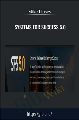 Systems For Success 5.0 – Mike Lipsey
