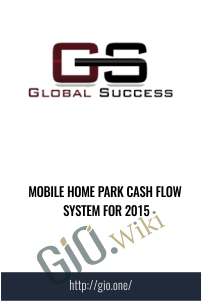 Mobile Home Park Cash Flow System for 2015