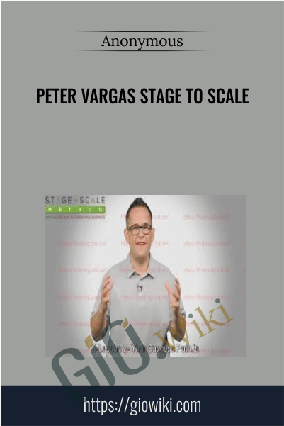 Peter Vargas Stage to Scale