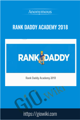 Rank Daddy Academy 2018
