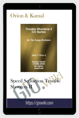 Speed Seduction Trouble Shooters II - Orion & Kamal