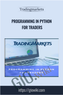 Programming in Python For Traders – TRADINGMARKETS