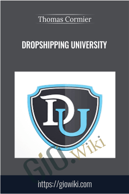 Dropshipping University – Thomas Cormier