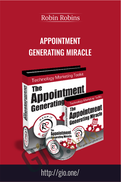 Appointment Generating Miracle – Robin Robins
