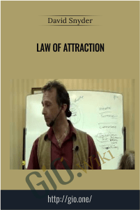 Law of Attraction – David Snyder