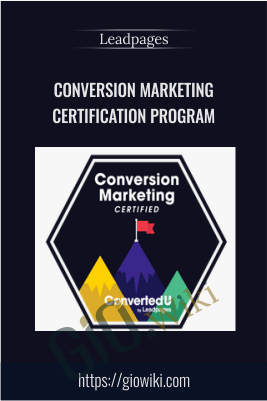 Conversion Marketing Certification Program – Leadpages