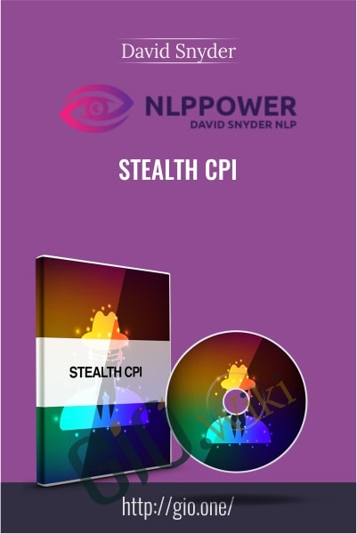 Stealth CPI (NLPPower) - David Snyder