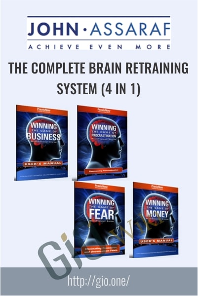 The Complete Brain Retraining System (4 in 1) - John Assaraf
