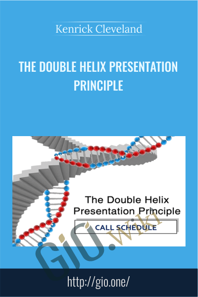 The Double Helix Presentation Principle - Kenrick Cleveland