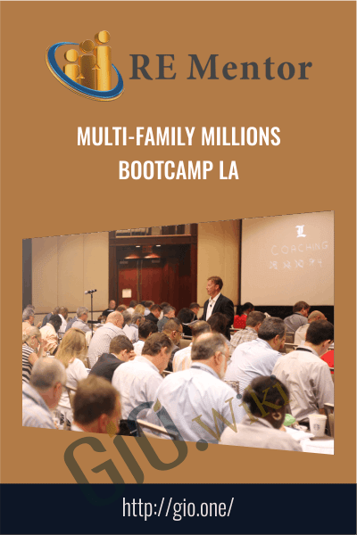 Multi-Family Millions Bootcamp LA - David Lindahl