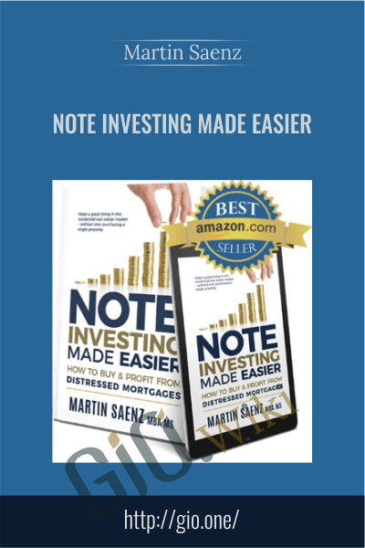 Note Investing Made Easier - Martin Saenz