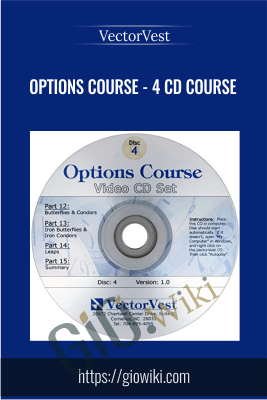 Options Course - 4 CD Course - VectorVest
