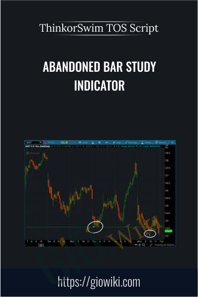 Abandoned Bar Study Indicator - ThinkorSwim TOS Script