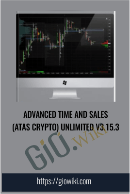 Advanced Time And Sales (ATAS Crypto) Unlimited v3.15.3