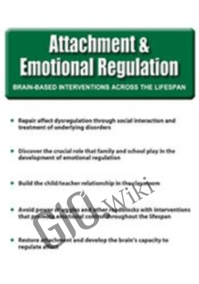 Attachment and Emotional Regulation - Mark L. Beischel