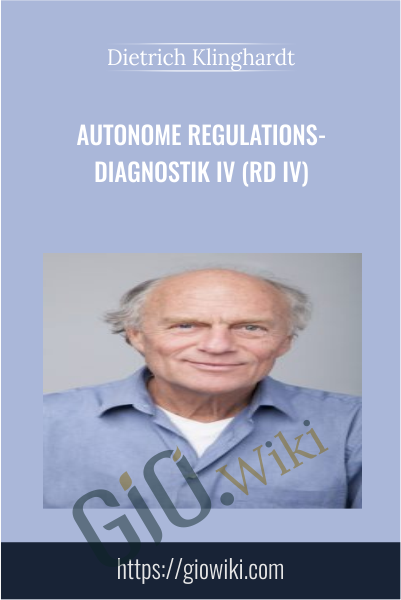 Autonome Regulations-Diagnostik IV (RD IV) - Dietrich Klinghardt
