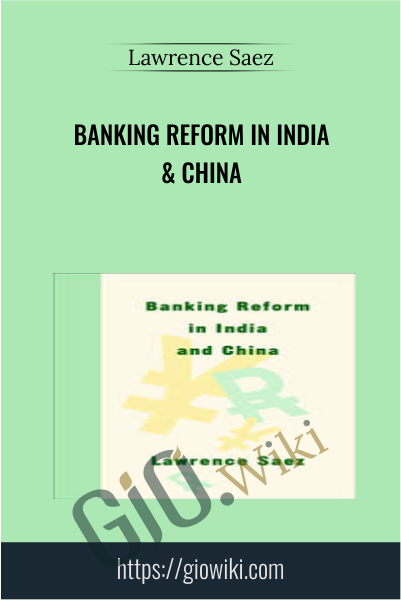 Banking Reform in India & China - Lawrence Saez