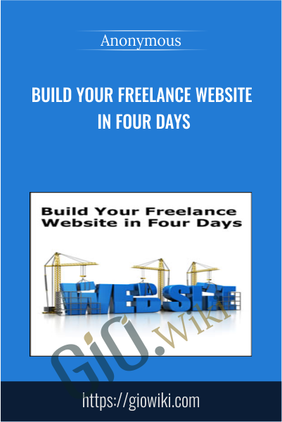 Build Your Freelance Website in Four Days