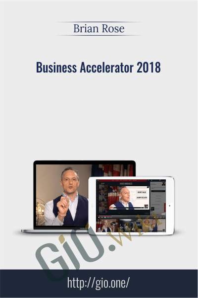 Business Accelerator 2018 - Brian Rose