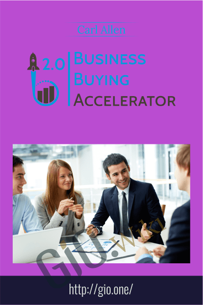 Business Buying Accelerator 2.0 – Carl Allen