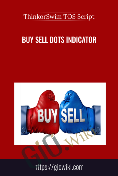 Buy Sell Dots Indicator - ThinkorSwim TOS Script