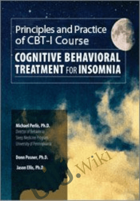 CBT for Insomnia - Donn Posner ,  Jason Ellis &  Michael Perlis