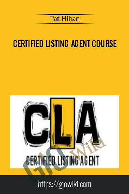 Certified Listing Agent Course – Pat Hiban
