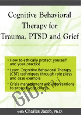 Cognitive Behavioral Therapy for Trauma, PTSD and Grief - Charles Jacob