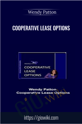 Cooperative Lease Options – Wendy Patton