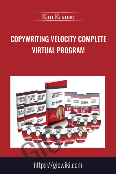 Copywriting Velocity Complete Virtual Program - Kim Krause