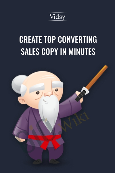 Create Top Converting Sales Copy in Minutes