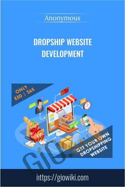 Dropship Website Development