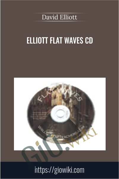 Elliott Flat Waves CD - David Elliott