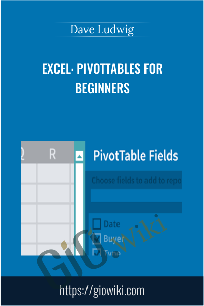 Excel: PivotTables for Beginners - Dave Ludwig