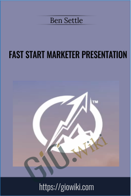 Fast Start Marketer Presentation - Ben Settle